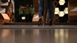 Elite Model Look 2014 contest per top model nello showroom di La Perla a Milano