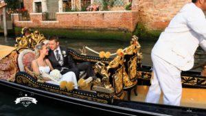 Il matrimonio più bello a Venezia in gondola su Sky e Mediaset