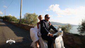 Il matrimonio più belloin vespa su Sky e Mediaset