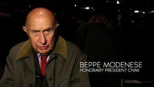 Milano Moda Donna Fall/Winter 2015/2016 Camera Nazionale della Moda Italiana intervista Beppe Modesene Honorary President CNMI