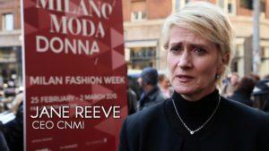 Milano Moda Donna Fall/Winter 2015/2016 Camera Nazionale della Moda Italiana intervista a Jane Reeve CEO CNMI